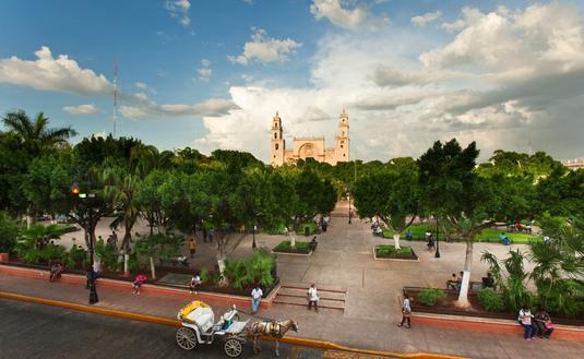 Yucatán recibió en 2019 a más de 2.1 millones de visitantes .