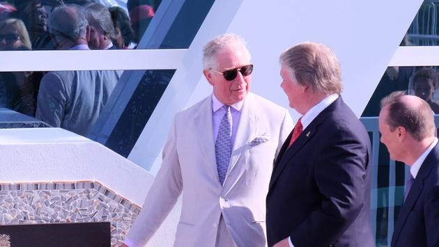 Prince Charles, Cayman Islands