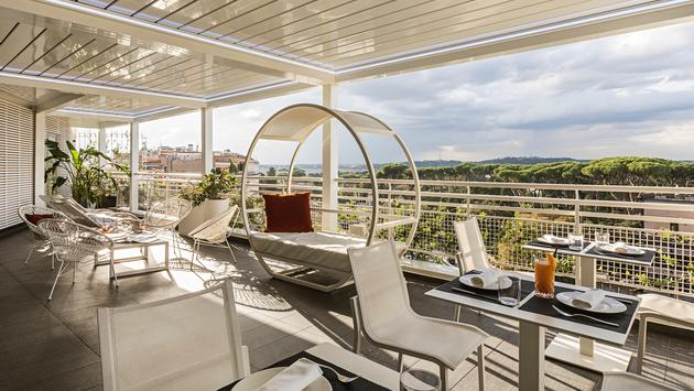 The Tribune Hotel in Rome is expected to join the JdV by Hyatt brand.