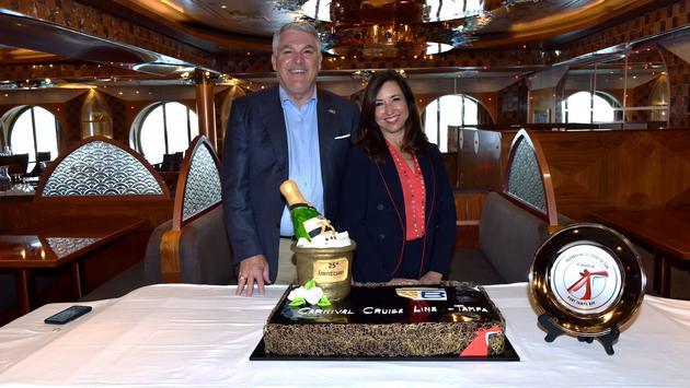 25e anniversaire de Carnival Cruise