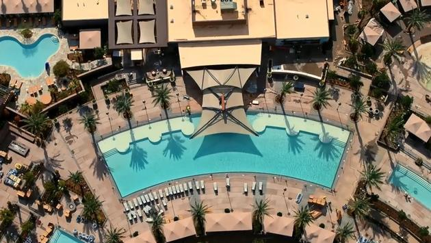 The Cove, a new pool complex at Pechanga Resort Casino