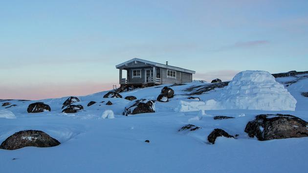 Igloo Lodge in Greenland