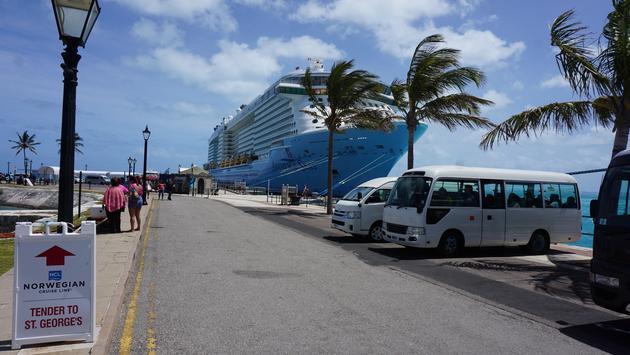 Ships at Royal Naval Dockyard in Bermuda
