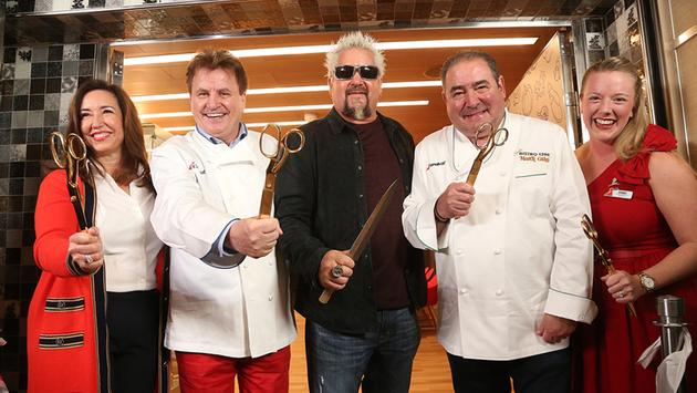 Celebrity Chefs on Carnival Panorama