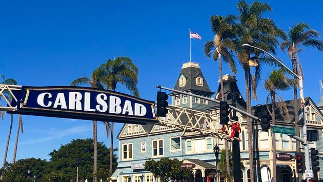Carlsbad, California village