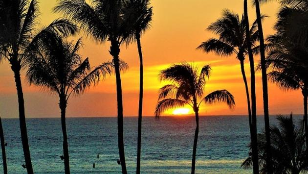 Sunset, Maui, Hawaii, Hawai'i