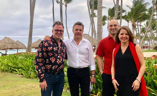 L'équipe de Voyages en direct à Punta Cana