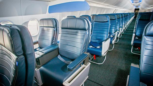 737 MAX 9 Cabin