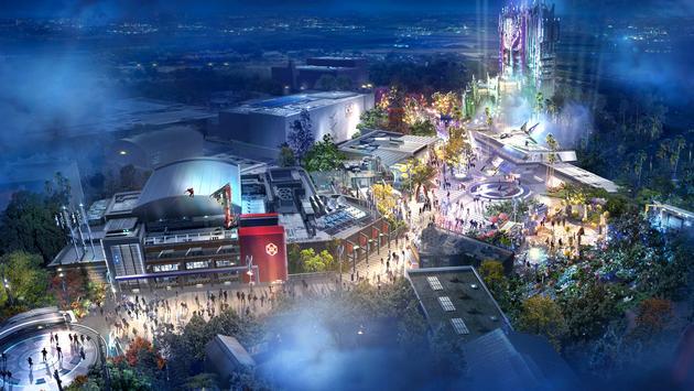 Disneyland's Avenger's Campus