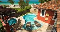 Mediterranean One Bedroom Butler Villa with Private Pool Sanctuary: $886PP/PN