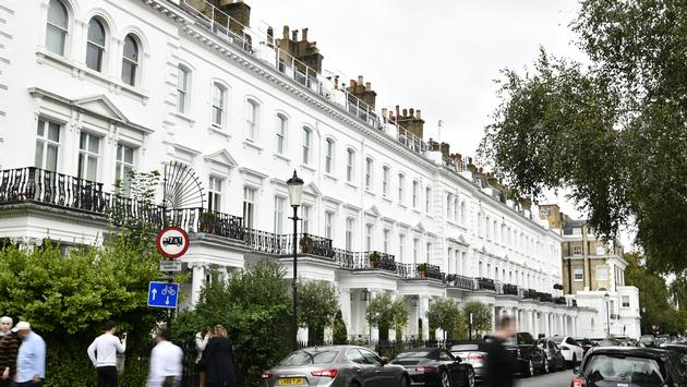 Old Brompton Road in London