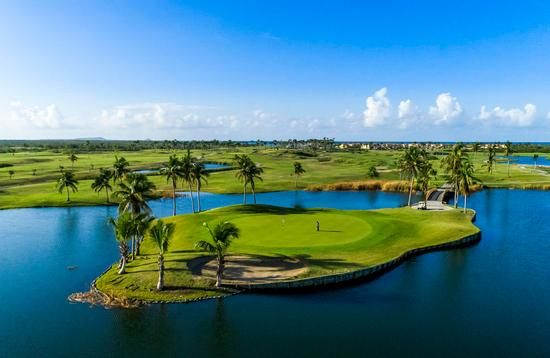 golf course in Puerto Rico