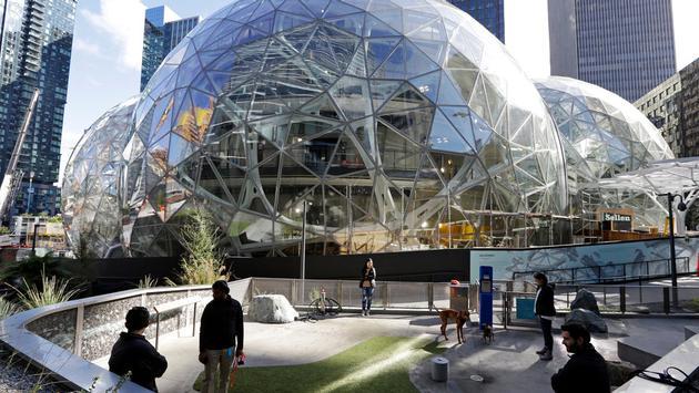 Amazon Head Office in Seattle