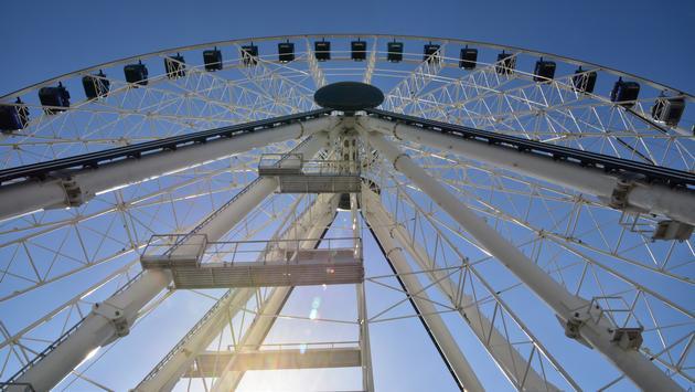 New Ferris wheel in Cancun, Mexico