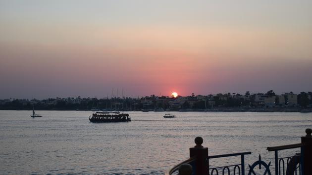 Nile River Cruise Sunset