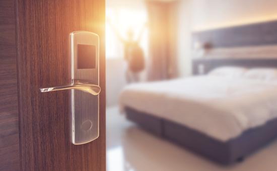 hotel, resort, bed