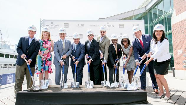 Groundbreaking for New Curio Collection by Hilton Property at Navy Pier
