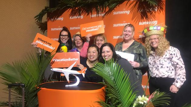 Travel Agents, Sunwing Vacation Better Event, Toronto