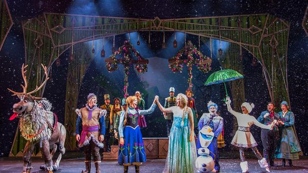 Frozen, A Musical Spectacular aboard the Disney Wonder