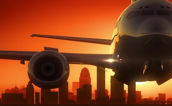 plane, takeoff, travel