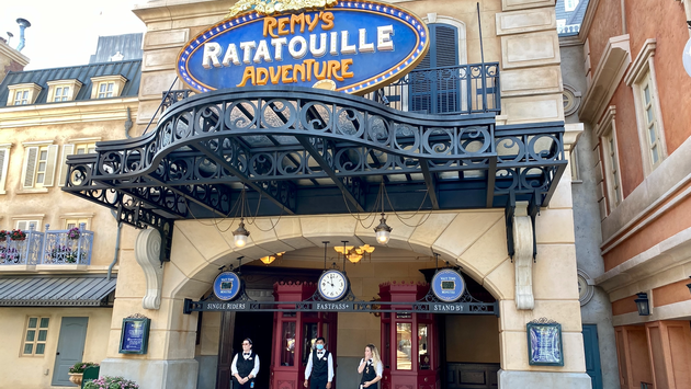 Remy's Ratatouille Adventure Marquee