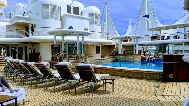 Quiet Cove Adult Pool aboard the Disney Wonder