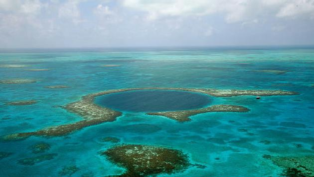 Great Blue Hole, Belize Barrier Reef