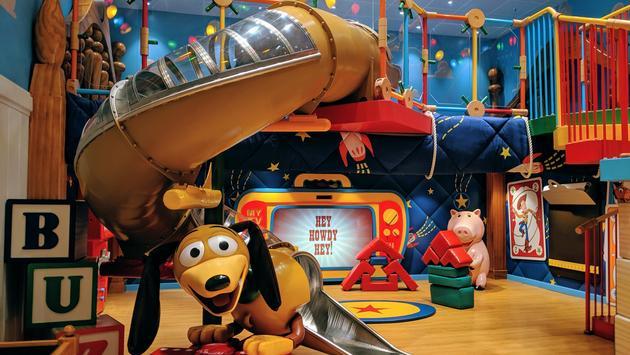 Disney's Oceaneer Club aboard the Disney Wonder