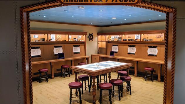 Disney's Oceaneer Lab aboard the Disney Wonder