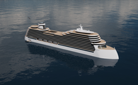 Rendering of ship exterior - storylines