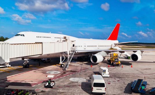 Cancun Airport.