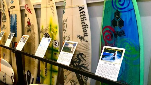 Surf Board Collection at Surfing Heritage & Cultural Center
