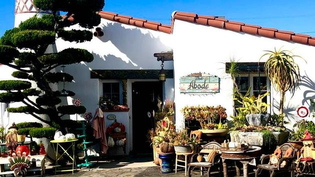 Charming shops of San Clemente