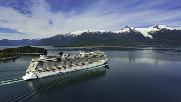 Norwegian Bliss at Ketchikan, Alaska