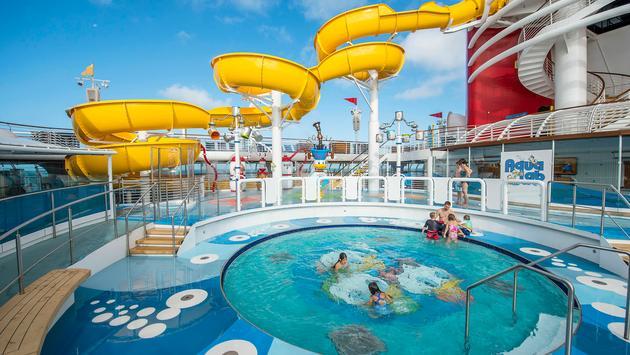 AquaLab a bordo del Disney Wonder