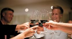 Wine on board Paul Gauguin Cruises