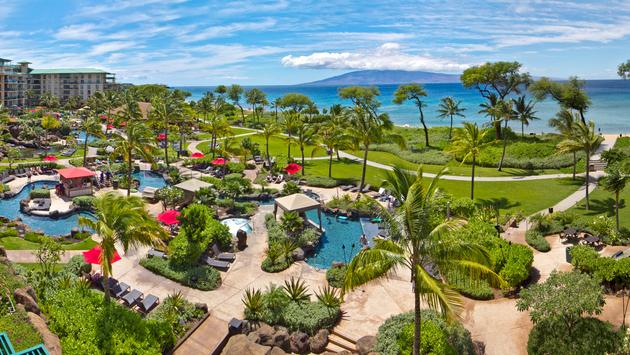 Honua Kai is a spectacular 38-acre oceanfront condo resort located on Maui's renowned Ka`anapali North Beach – offering luxurious studio, one, two and three-bedroom suites alongside full-service concierge, Ho`ola Spa and Duke's Beach House restaurant. (photo courtesy of Coyne PR)