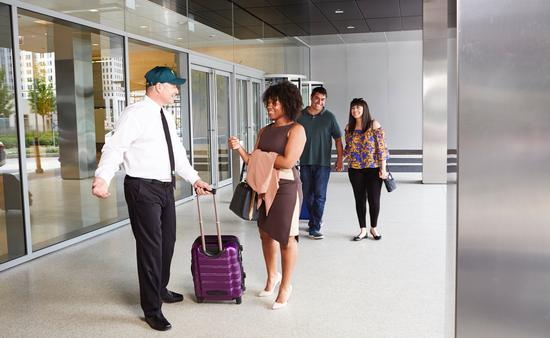 GO Airport Shuttle services.