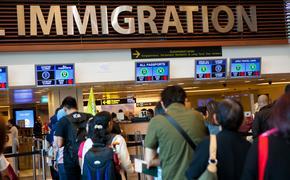 Immigration line