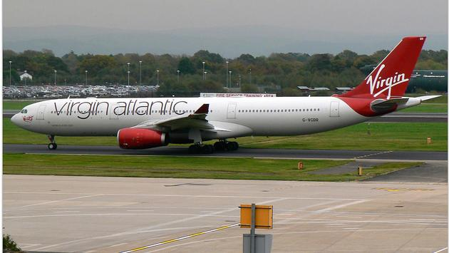 A Virgin Atlantic Airbus A330-200
