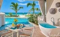 Get 1 Free Night at Beachfront Swim-up Super Luxe 1 Bdrm Butler Suite
