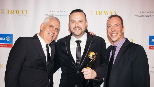 The G Adventures team at the 2018 Travvy Awards