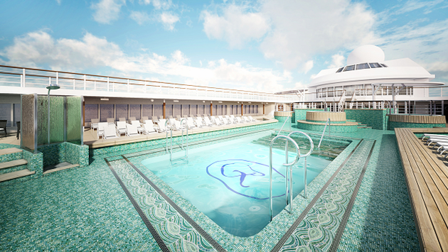 Regent Seven Seas Marriner Pool