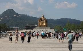 Statue of King Sejong in Seoul, South Korea