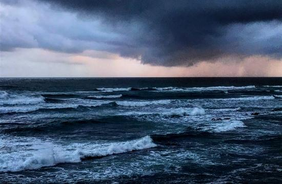 Storm Waves in Puerto Rico