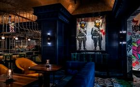 Banksy, art, restaurant
