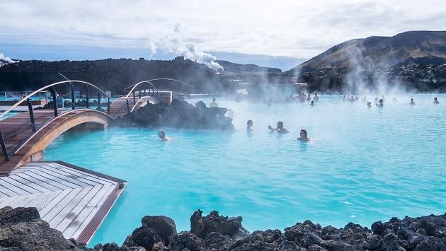 The Blue Lagoon awaits your visit in Iceland