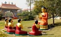 Buddhist statues in Nepal