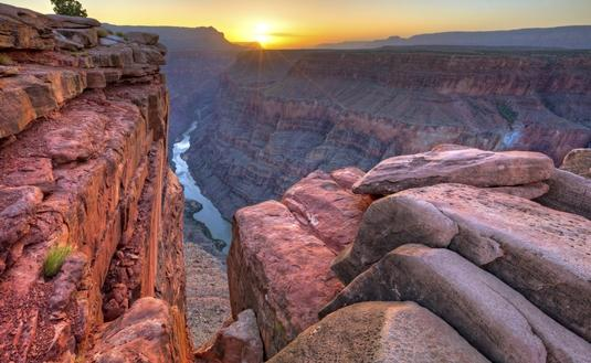 View of the Grand Canyon from Toroweap overlook.