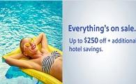 Everything is on sale! Save up to $250 on every destination we offer